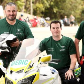 MotoMedics in the Courier Mail